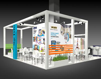 Śnieżka Exhibition Stand / Graphic Design