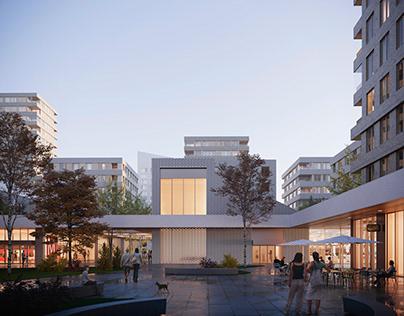 Urban Redevolupment Plan | Opus Architecture