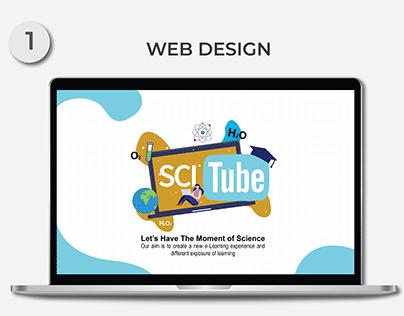 SciTube Web Design