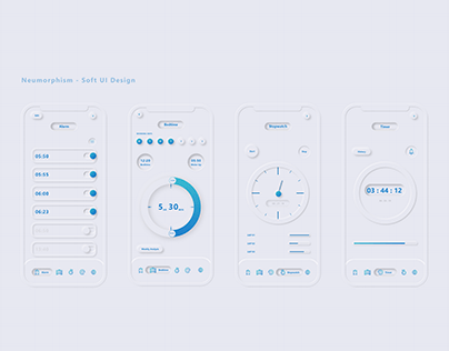 Neumorphic Soft UI Design
