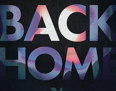 home lyric poster