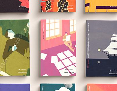 I BOREALI// Book covers