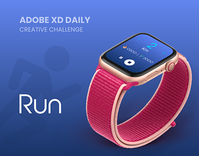 Run : Adobe XD Daily Creative Challenge