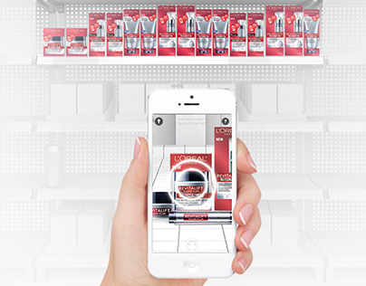 L'oreal Skin Expert Augmented Reality Campaign