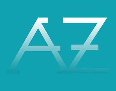 AVZ Monogram Logo