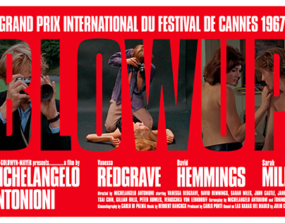 Blowup (1966) dir. Michelangelo Antonioni
