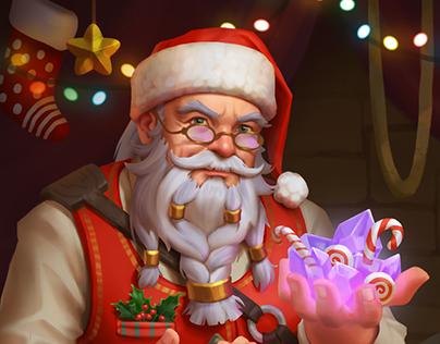 Santa merchant