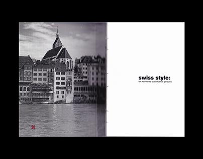 swiss style: um movimento que influencia gerações