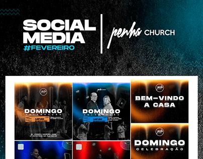 SOCIAL MEDIA CHURCH - PENHA #FEVEREIRO