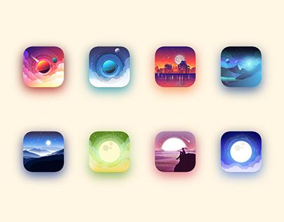 Icons landscape vol.2