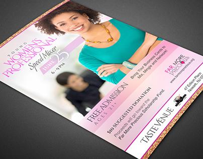 Women's Networking Mixer: Event Branding Package
