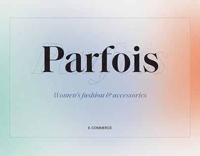 Parfois - E-commerce Website