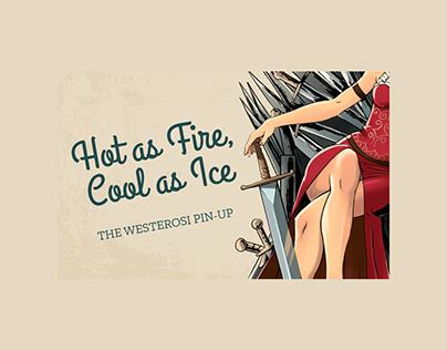 Game of Thrones interactive infographic websites