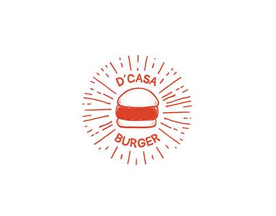 D'CASA BURGER | Branding