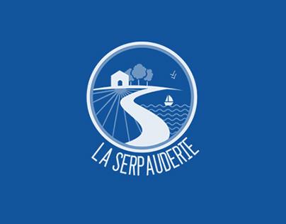 La Serpauderie band identity + website