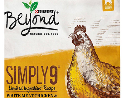 Purina Beyond Packaging Illustrations by Steven Noble