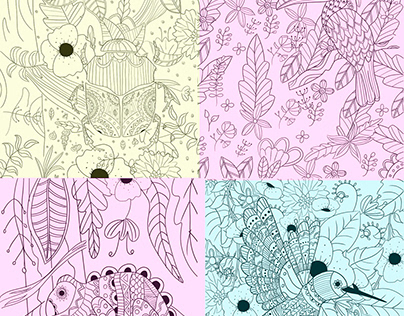 Libro mandalas para colorear