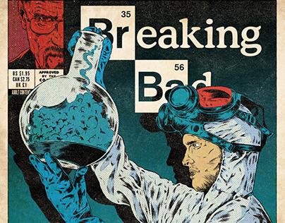 Breaking Bad | Pulp Comic Cover