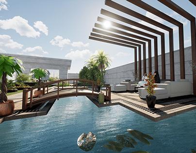DESIGN(BUILDING&LANDSCAPE& POOL)-MS.SEREIN-DUBAI2021