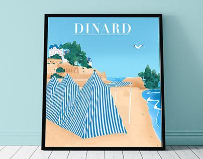 Dinard Illustration