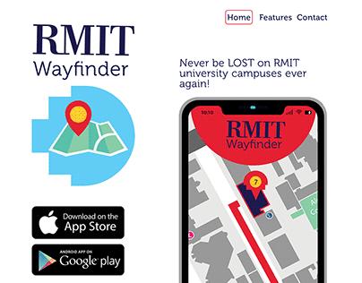 RMIT WAYFINDER (website idea proposal)