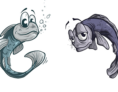 Character Design: Goby Fish