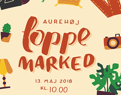 Aurehøj Flea Market | Poster