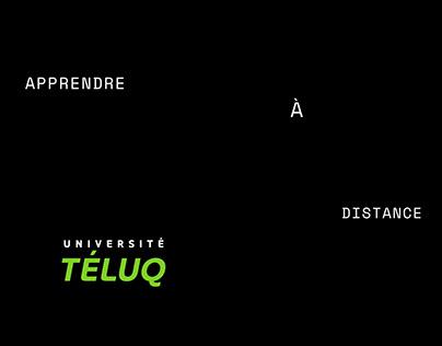 Université TÉLUQ Apprendre à distance