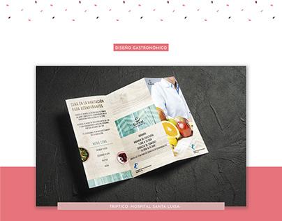Diseño Gastronómico - OFFLINE - Tripticos y dipticos