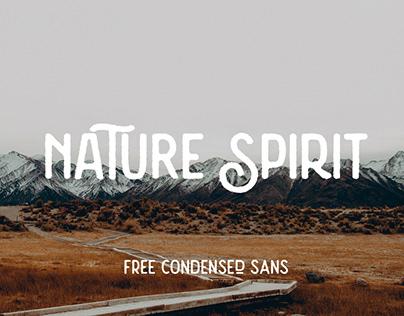 NATURE SPIRIT - FREE VINTAGE SANS SERIF FONT