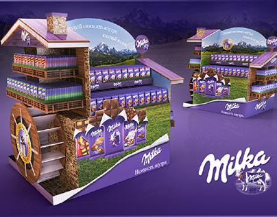 Milka. Design of the Year reward (Popai 2018)
