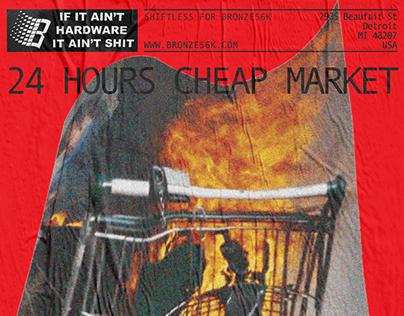 Cheap market / Event poster