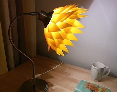 Desktop lamp based on Parametric Design