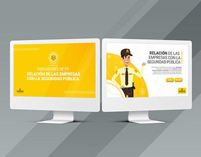 Curso interactivo empresa de seguridad PROSEGUR
