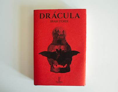 Diseño de sobrecubierta e interiores. Libro: Drácula