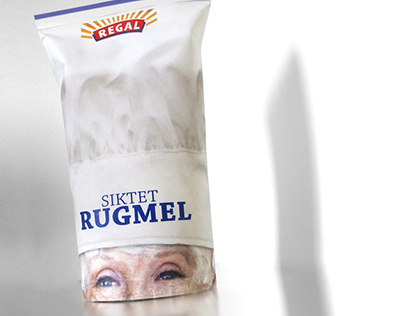 Packaging redesign: Regal Flour