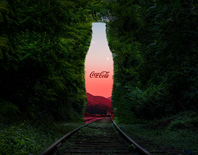 Coca-Cola advertising poster