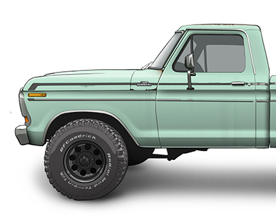 Ford F150 Render