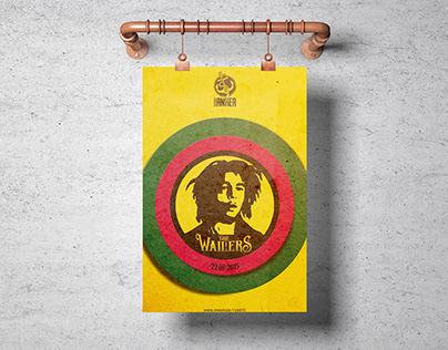 Bob Marley's The Wailers Poster