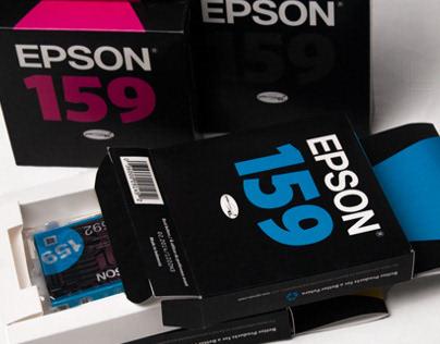 Epson Printer Ink Packaging