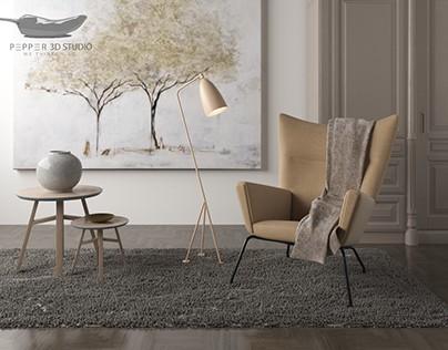 Various interior designs