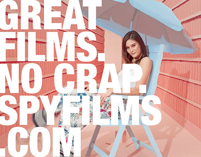 Spy Films Website ReDesign