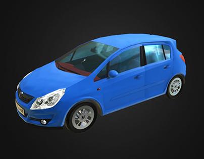 Opel Corsa - game model
