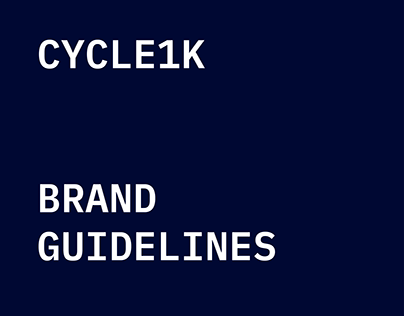 Cycle1K - Brand Guidelines