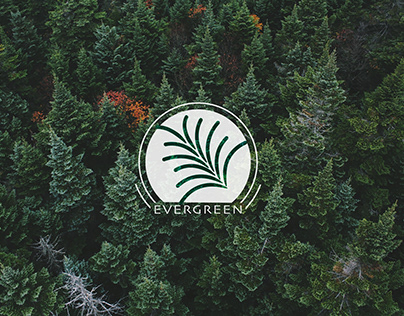 Evergreen Submark Logo Design 2018