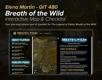Breath of the Wild Interactive Map & Checklist