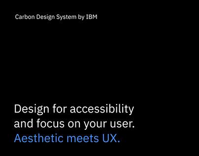 Carbon Design System by IBM