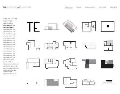 Architecture Studio website project