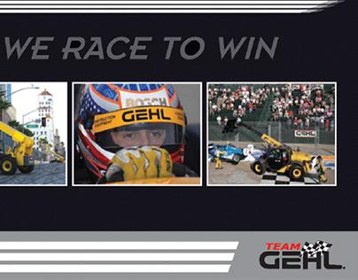 GEHL Corporation Racing Sponsorship Brochure