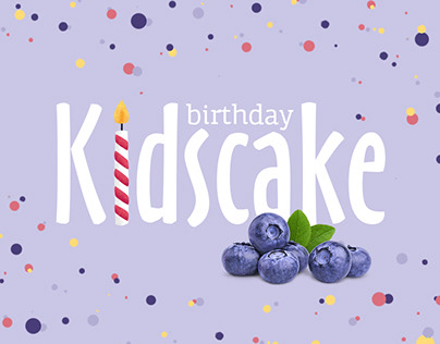 Kid's birthday-cake packaging concept